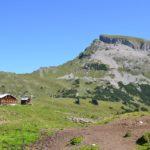 Alpe Ifersgunt am Fuße des Hohen Ifen
