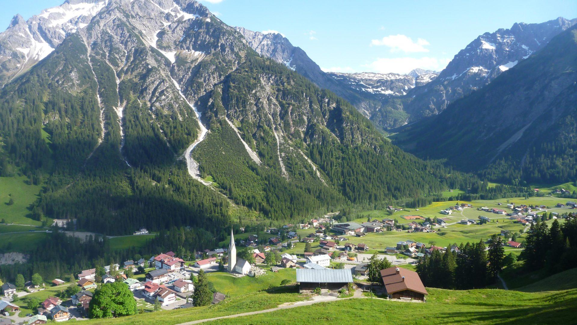 Bick auf Hirschegg