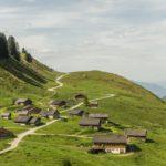 Blick auf Alpe Steris