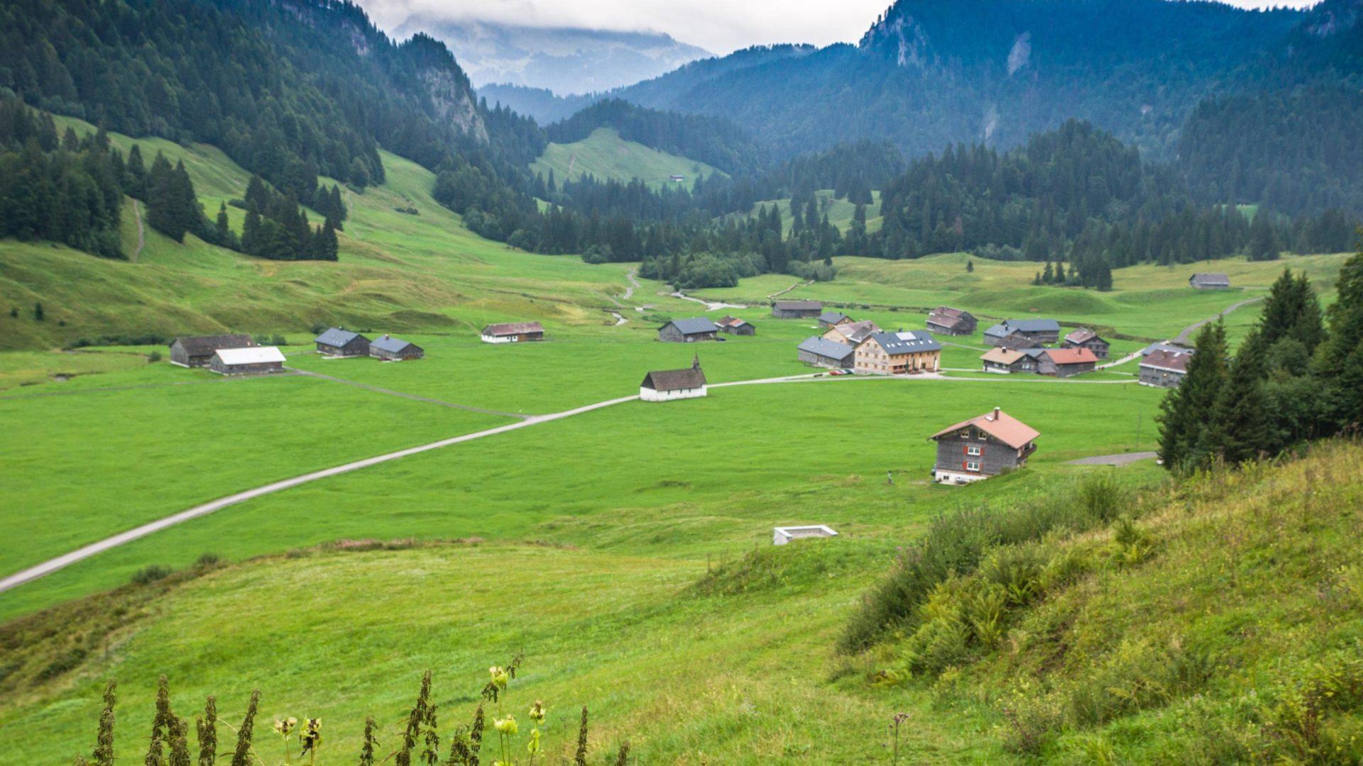 Blick auf Schönenbach
