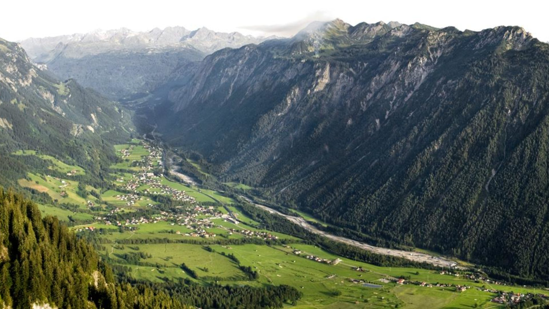 Blick ins Klostertal