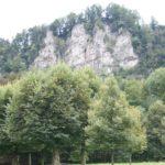 Blick vom Reichenfeld auf den Stadtschrofen