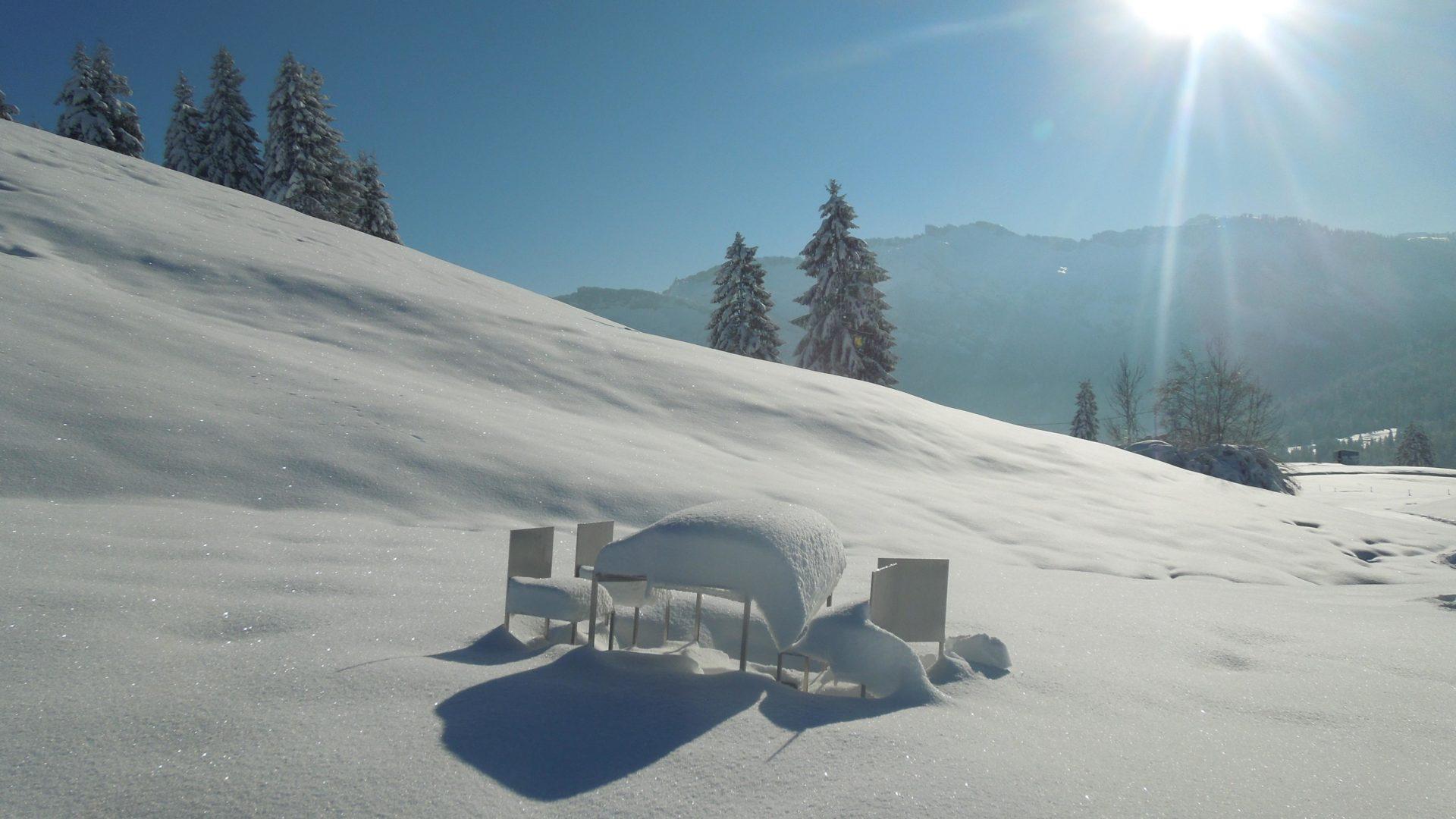 Georunde im Winter