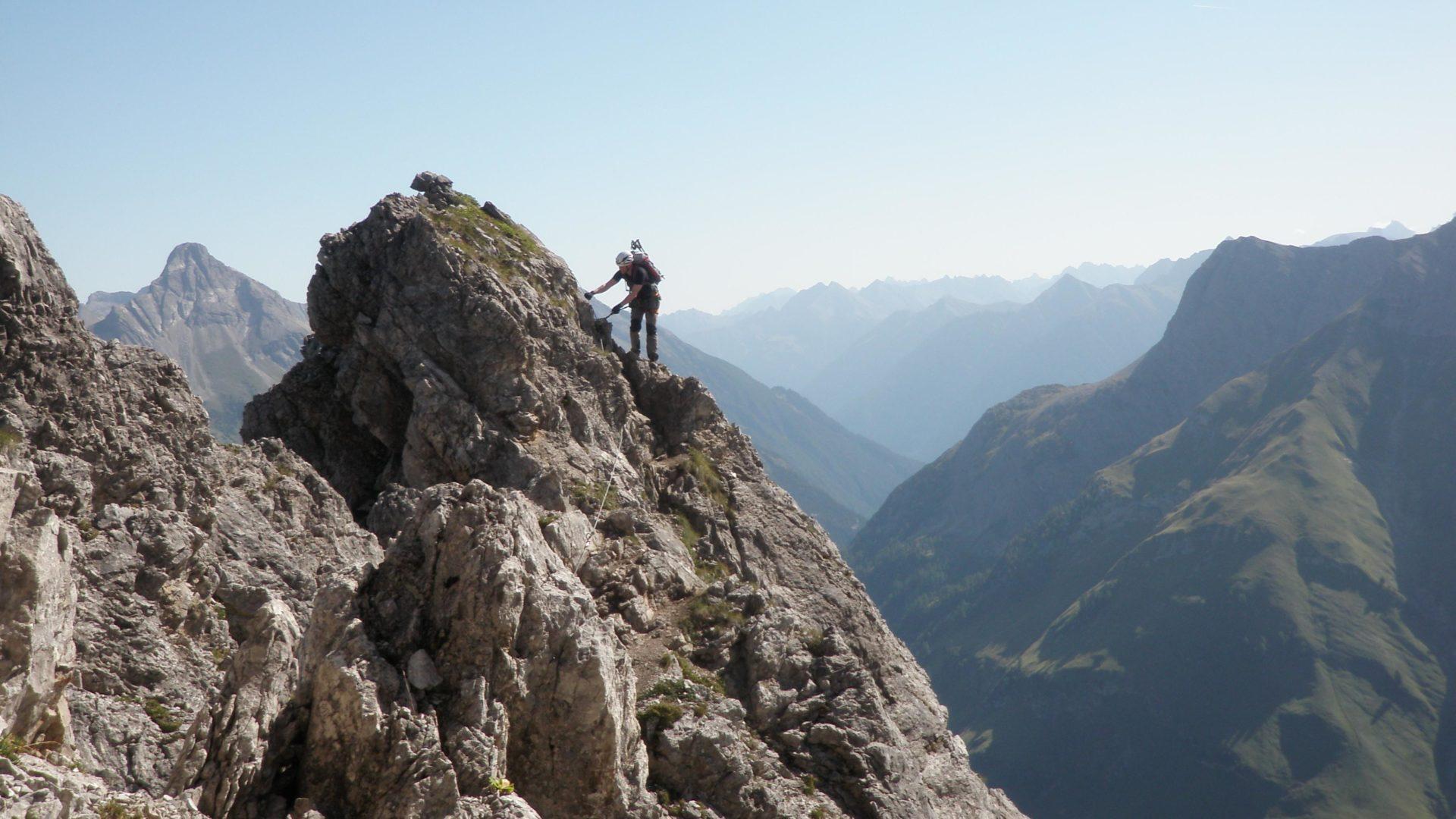 Klettersteig Vorarlberg : Klettersteige in vorarlberg