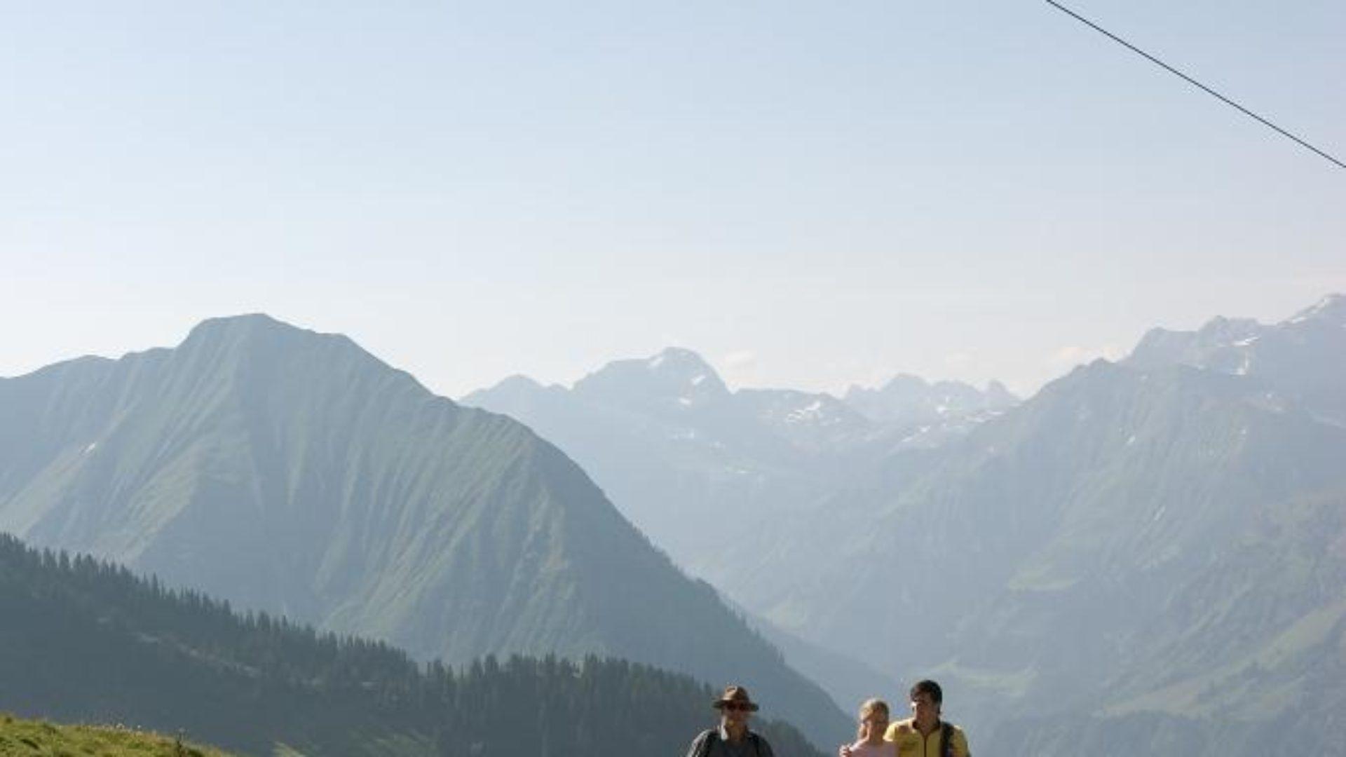 Wanderweg zur Bergstation