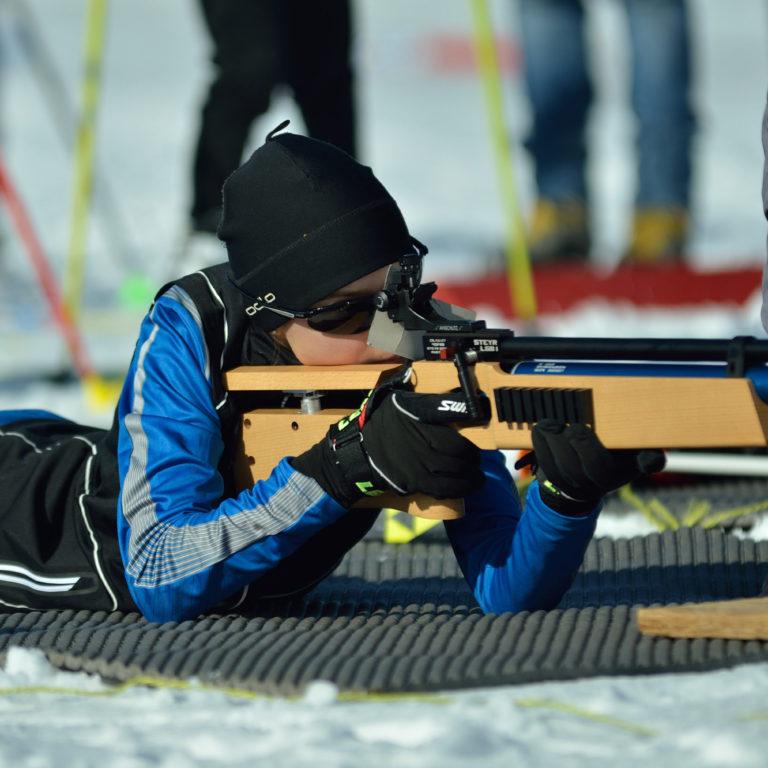 Biathlon schnuppern im Nordic Sport Park Sulzberg (c) Patrick Feurle