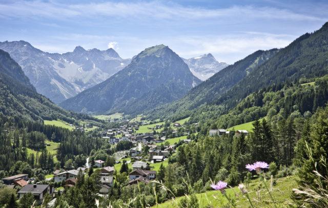 Brand im Sommer © Dietmar Walser/Alpenregion Bludenz Tourismus GmbH