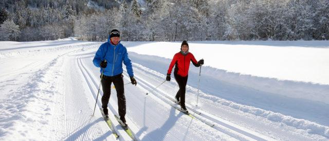 Langlaufen auf Vital-Loipen im Kleinwalsertal (c) Frank Drechsel - Kleinwalsertal Tourismus eGen