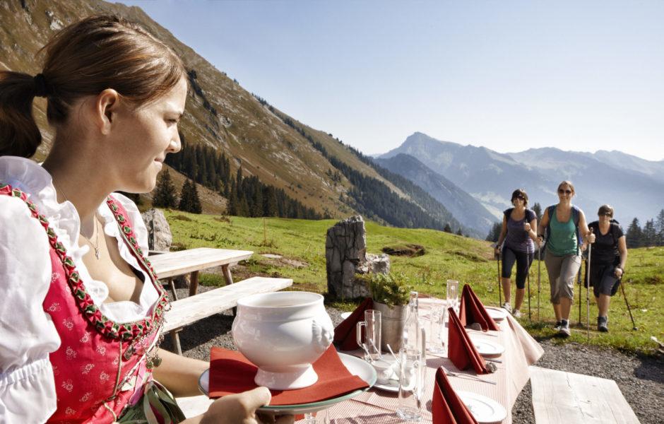 Kulinarisch Wandern in Mellau im Bregenzerwald © Adolf Bereuter / Bregenzerwald Tourismus