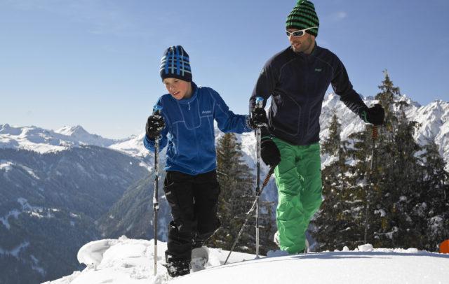 Bergerlebnis Familie - Schneeschuhwandern im Montafon, Vorarlberg © Alex Kaiser - Montafon Tourismus GmbH, Schruns