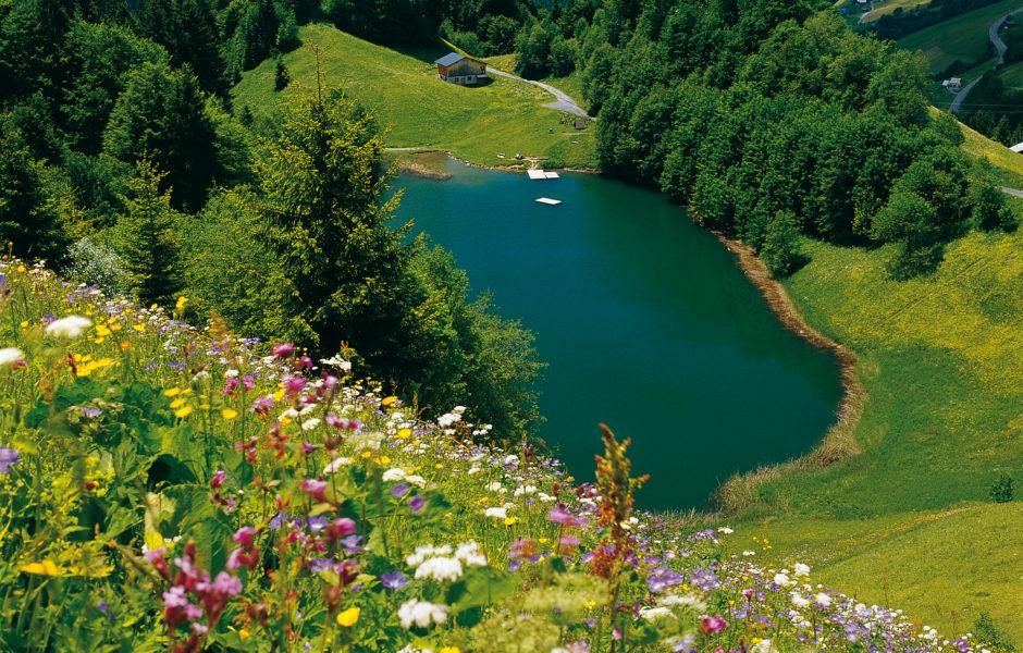 Seewaldsee Großes Walsertal (c) Christa Branz/Vorarlberg Tourismus