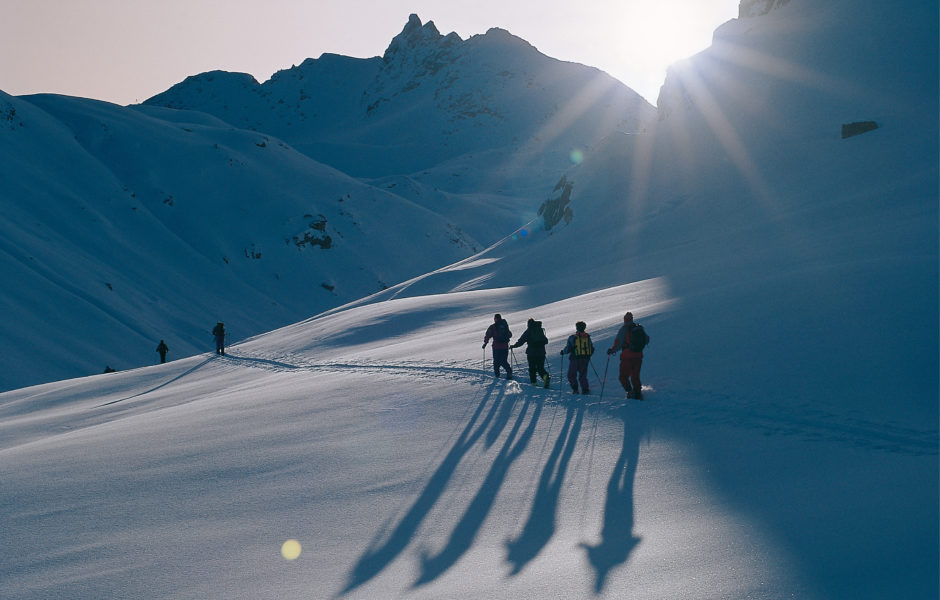 Tourengeher Silvretta (c) Andreas Gassner/Vorarlberg Tourismus