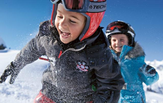 Familienurlaub im Montafon, Bergerlebnis - Kinder Skisafari am Golm © Illwerke Tourismus