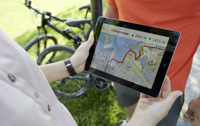 E-Bike App (c) Peter Mathis / Vorarlberg Tourismus