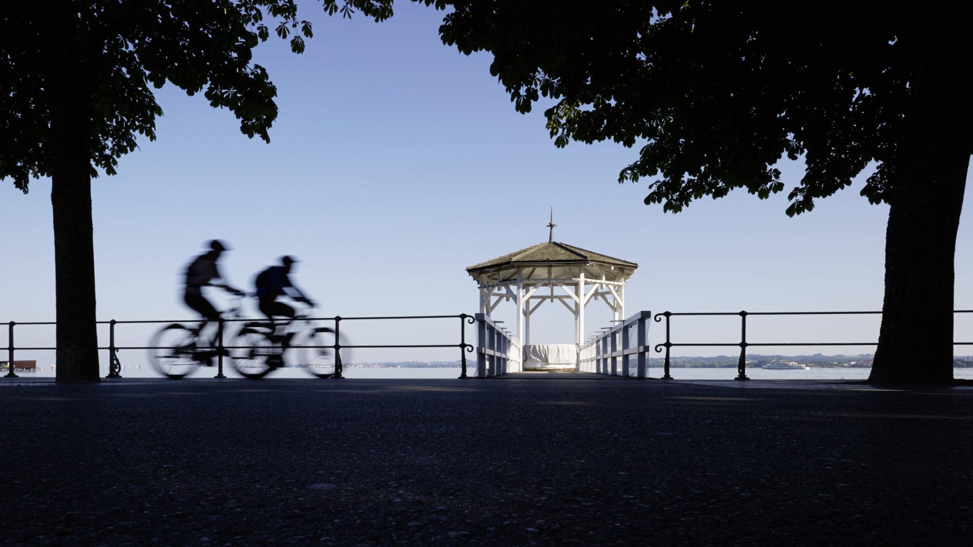 E-Bike Bregenz, am Bodensee (c) Peter Mathis / Vorarlberg Tourismus