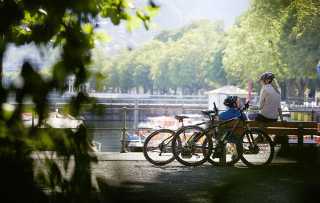 E-Bike Bregenz Bodensee (c) Peter Mathis / Vorarlberg Tourismus