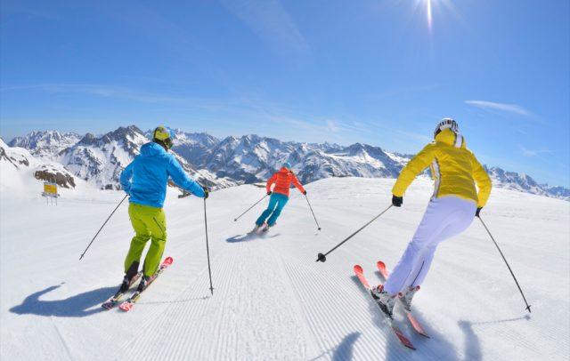 Skifahren Lech Zuers am Arlberg, Sonnenski (c) Sepp Mallaun - Lech Zuers Tourismus © Vorarlberg Tourismus GmbH
