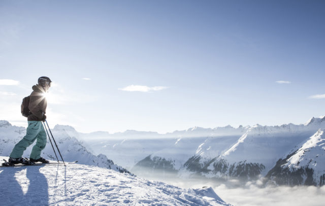 Skifahren im Skigebiet Silvretta Montafon (c) Silvretta Montafon