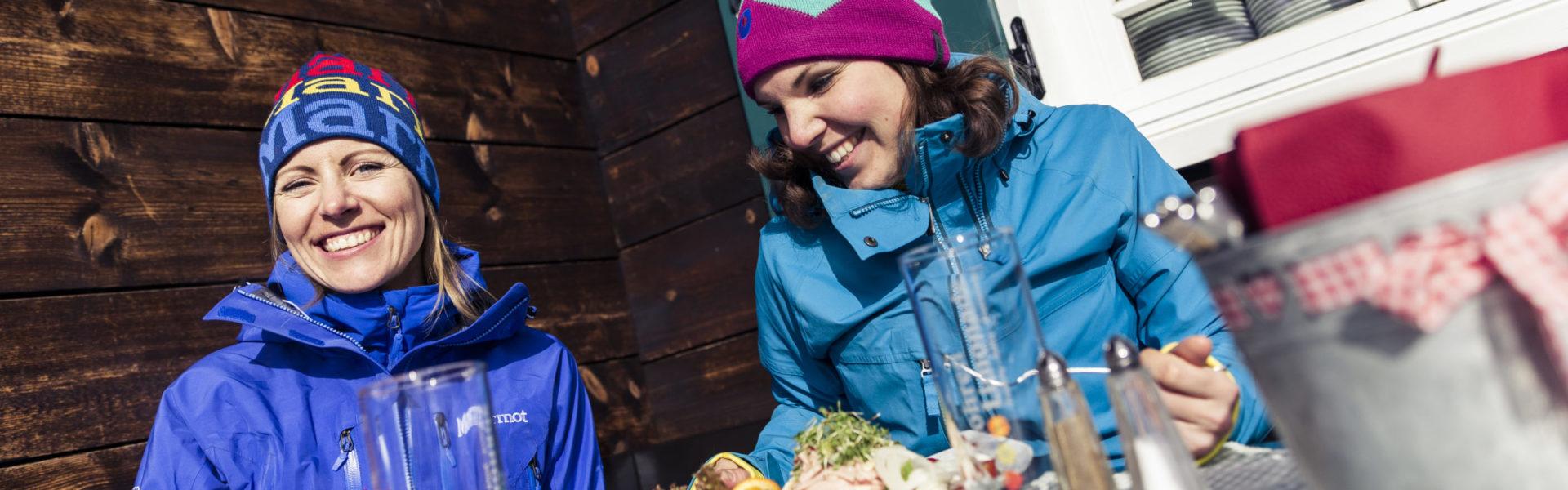 Genießen auf der Sonna Alp im Kleinwalsertal © Oliver Farys / Kleinwalsertal Tourismus