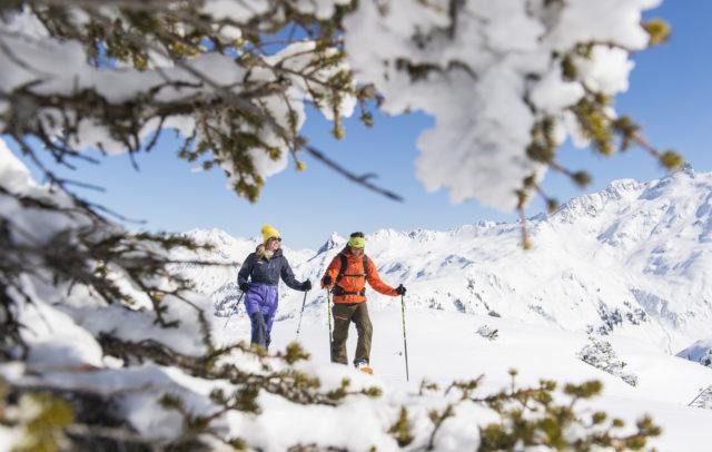 Schneeschuhwandern am Sonnernkopf im Klostertal, Routentipps ©Alex Kaiser /Alpenregion Bludenz Tourismus