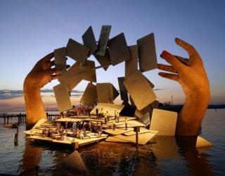 Seebühne Oper Carmen 2018 (c) Bregenzer Festspiele / Karl Forster