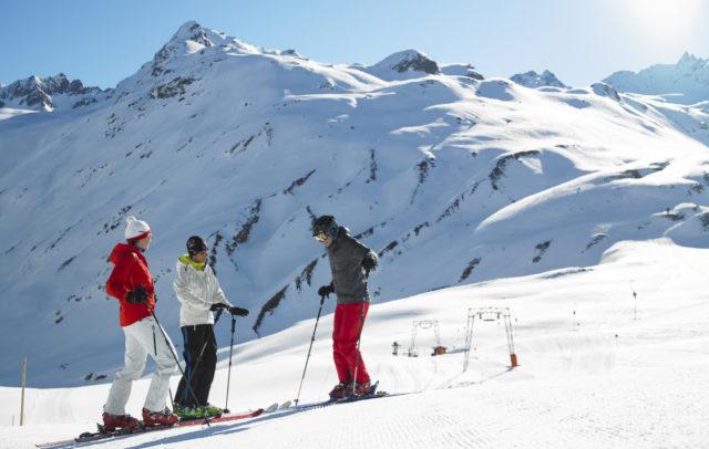 Skifahren Winter (c) Silvretta Bielerhoehe