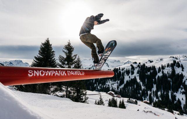 Snowpark Damüls © Oostenrijk TV - Bregenzerwald Tourismus