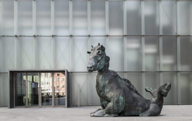 Thomas Schütte, Installation Innenstadt Bregenz, KUB(c) Markus Tretter / Kunsthaus Bregenz