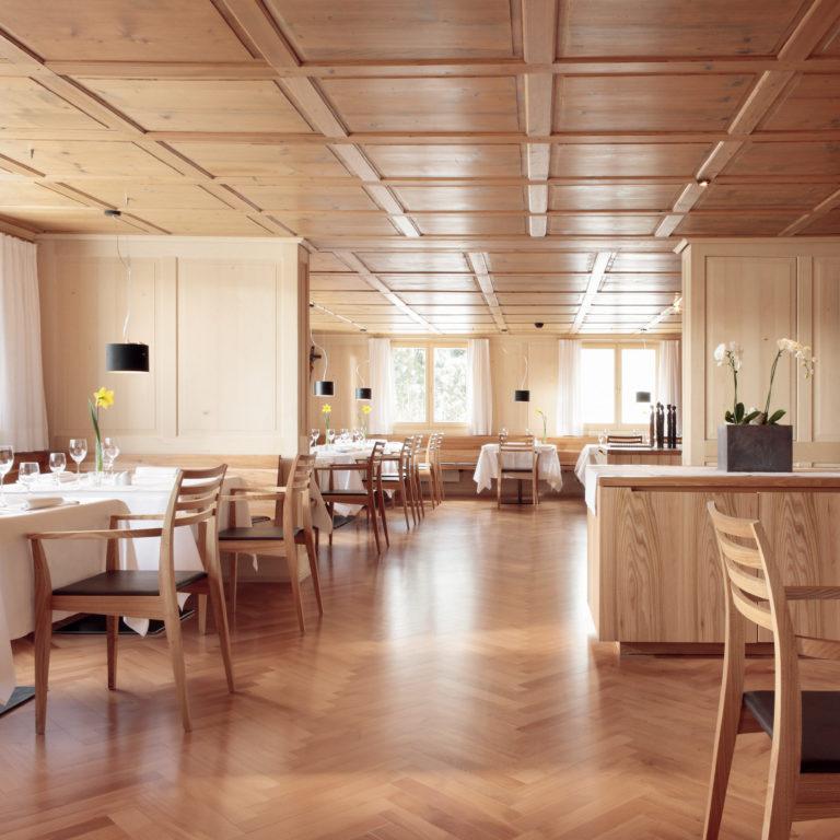 Neue Gaststube im Hotel Gasthof Krone, Hittisau © Adolf Bereuter / Krone Hittisau