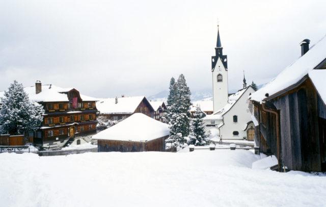Schwarzenberg im Bregenzerwald (c) Christoph Lingg / Bregenzerwald Tourismus