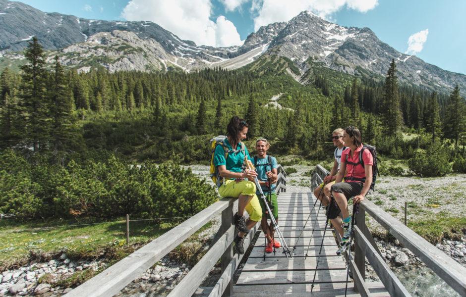 Der Lechweg in Vorarlberg © Christoph Schöch / Lech Zürs Tourismus