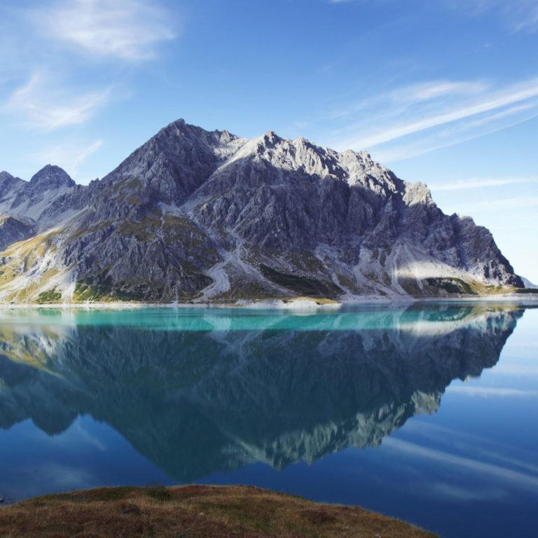 Lünersee im Brandnertal © Joachim Stretz / Alpenregion Bludenz Tourismus