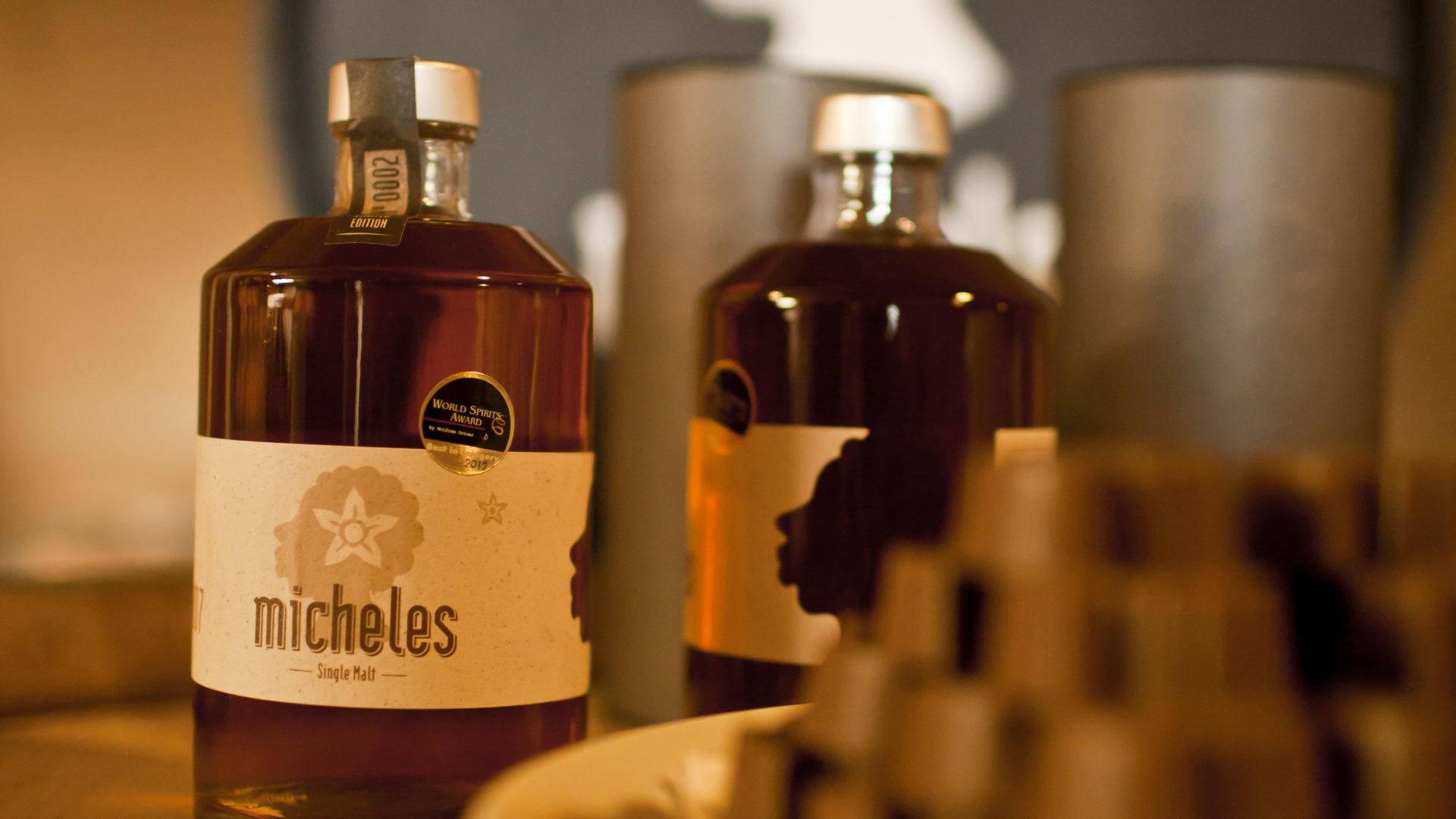Souvenirs Vorarlberg, Edelbrände, Whiskey vom Michelehof (c) Albert Büchele