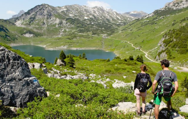 Wanderung zum Formarinsee, dem schönsten Platz Österreichs © Lech Zürs Tourismus