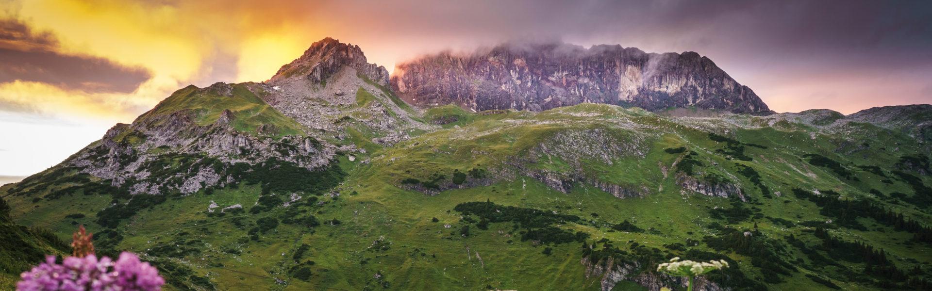 Formarinsee Rote Wand, Arlberg, Urlaub in Vorarlberg (c) Dietmar-Denger / Vorarlberg Tourismus