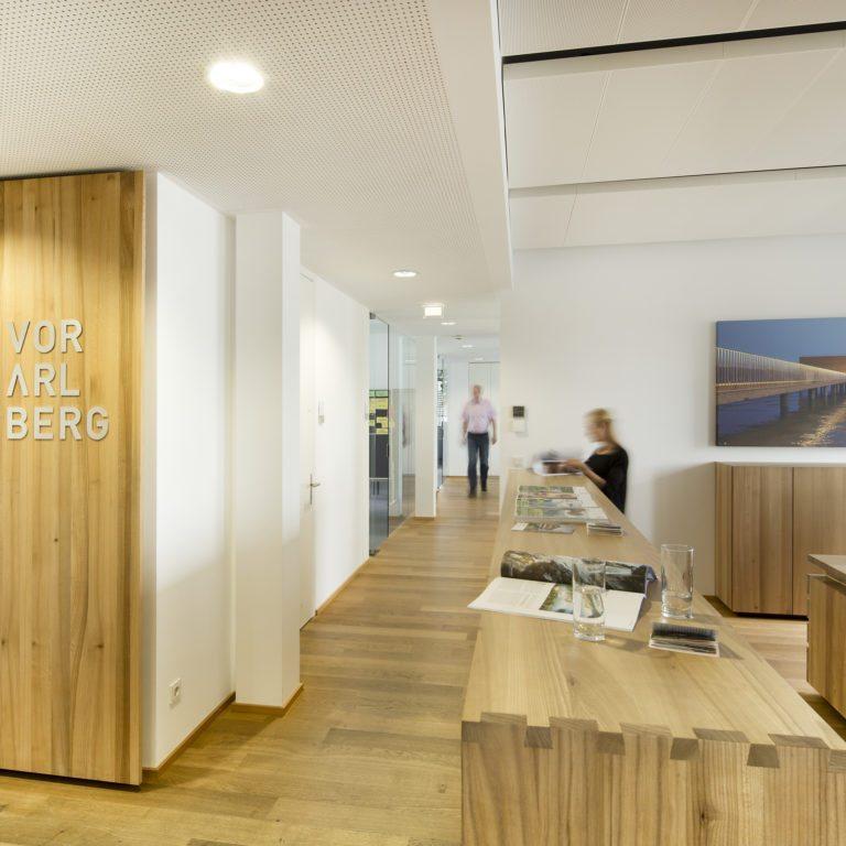Büro der Vorarlberg Tourismus GmbH, Dornbirn, Team (c) Petra Rainer / Vorarlberg Tourismus GmbH