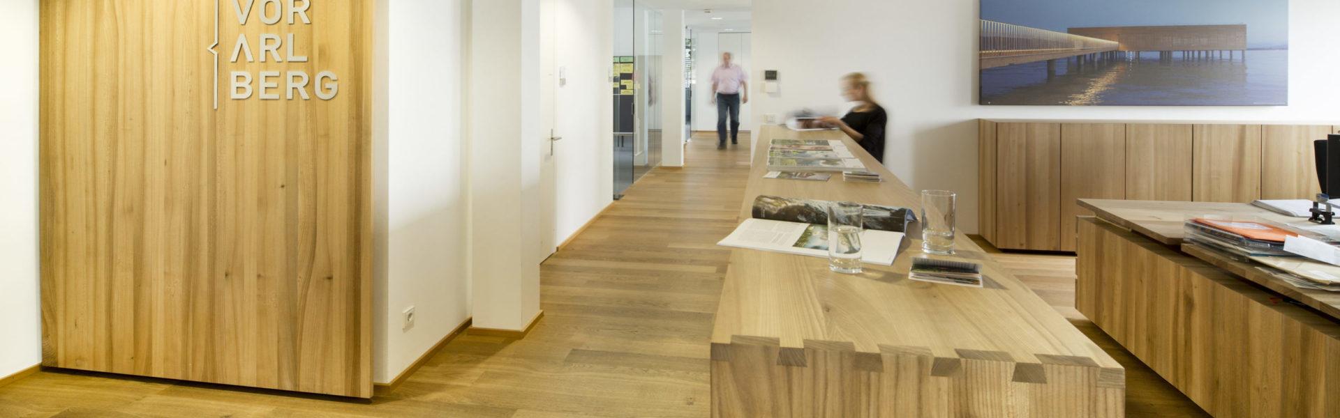 Büro der Vorarlberg Tourismus GmbH, Dornbirn (c) Petra Rainer / Vorarlberg Tourismus GmbH