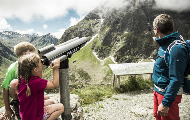 Familienwandern, Schmugglerland Gargellen, Montafon © Christoph Schöch/Bergbahnen Gargellen