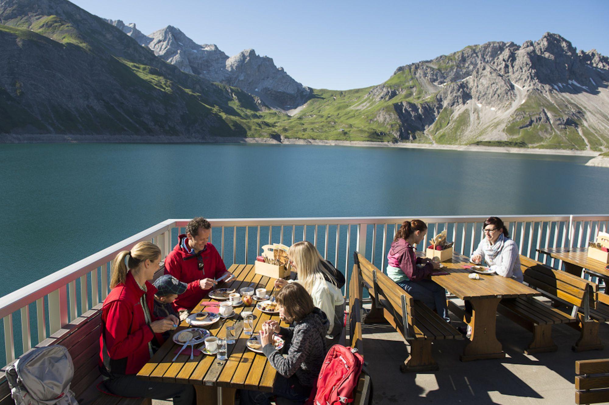 Mountain Breakfast In Vorarlberg Hiking And Delights