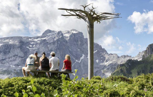 Gauertaler AlpKulTour, Kulturwandern, Wanderweg, Mythenbaum (c) Andreas Haller / Montafon Tourismus GmbH