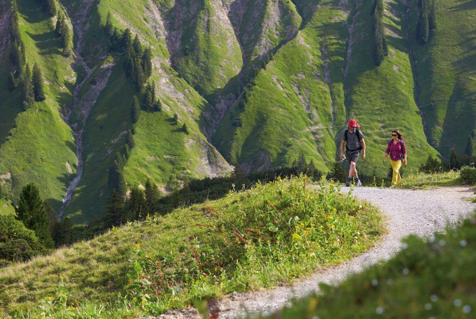 Min Weag-Etappe 10, Arlberg, Kleinwalsertal, Bergerlebnis (c) Peter Mathis / Vorarlberg Tourismus