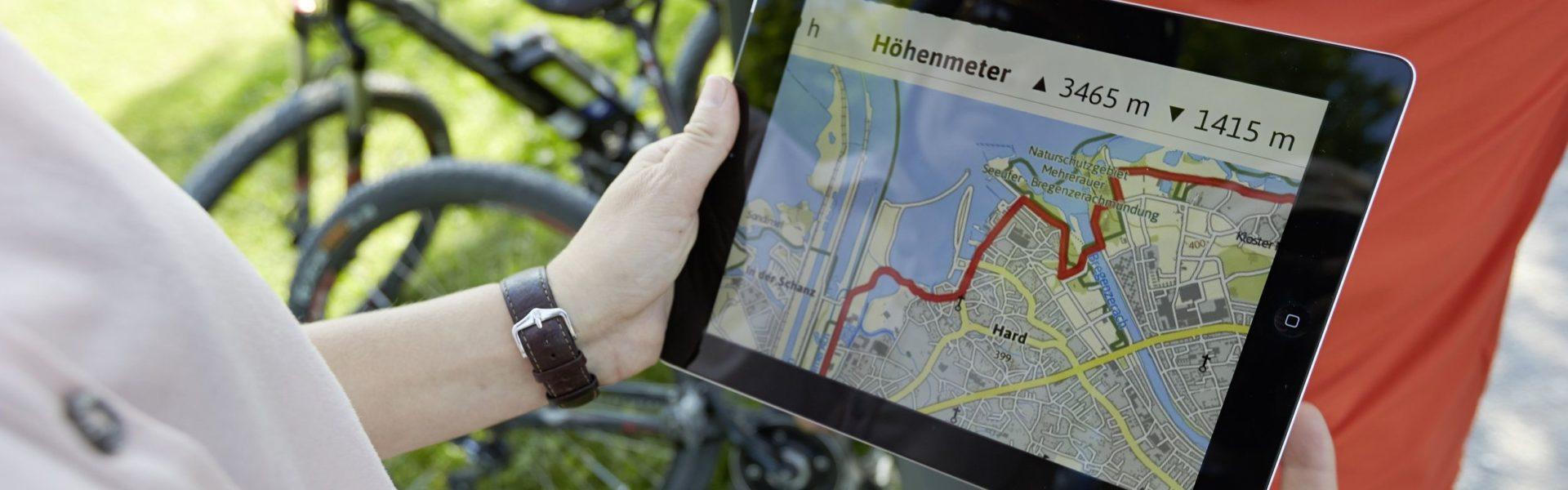 Vorarlberg App Urlaub und Freizeit (c) Peter Mathis / Vorarlberg Tourismus GmbH
