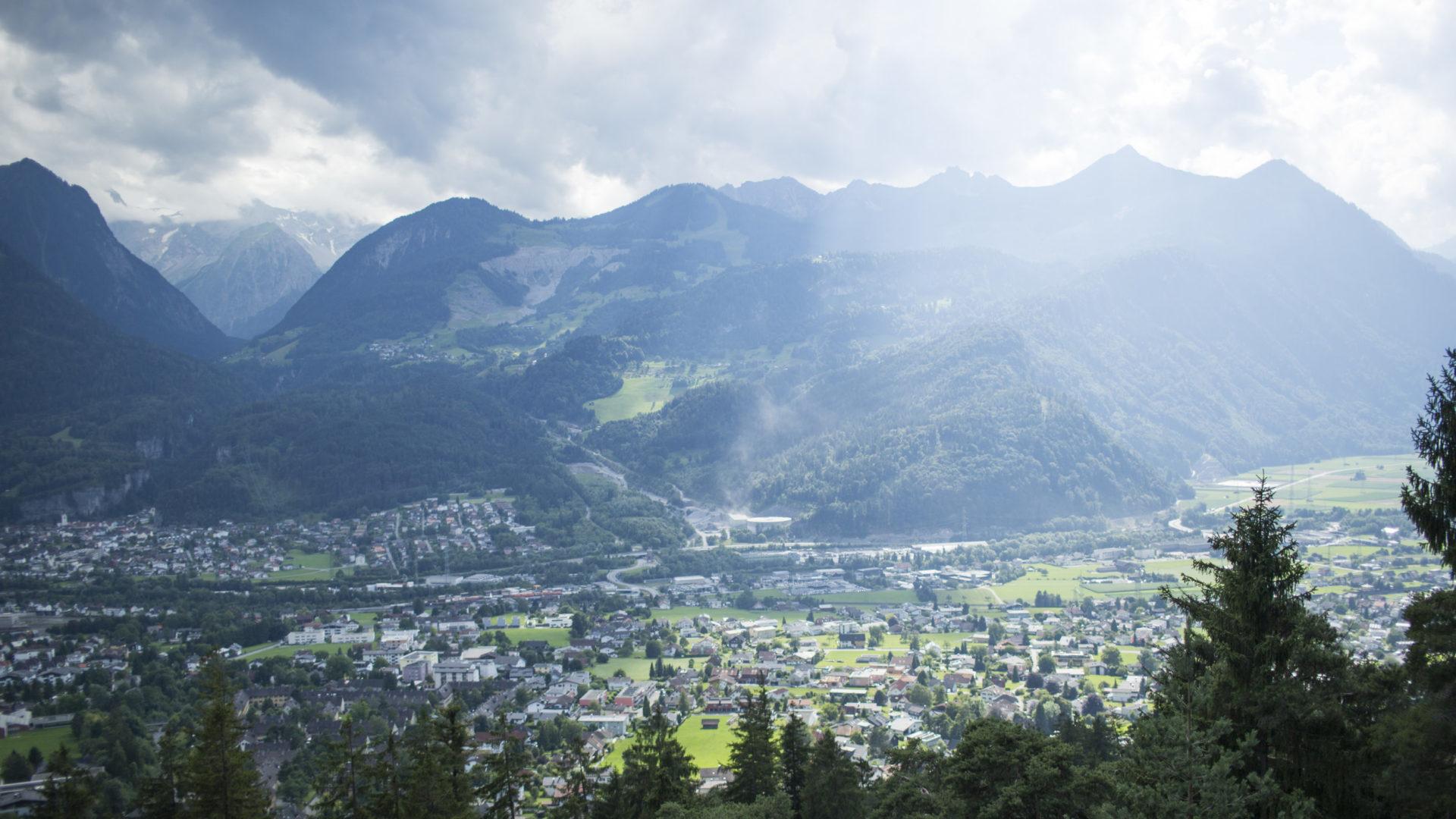 Blick auf den Walgau, Bludenz, Regionen in Vorarlberg (c) Vorarlberg Tourismus