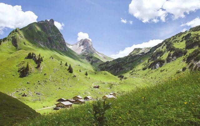 Alpe Laguz, Biosphärenpark Großes Walsertal (c) Dietmar Walser / Vorarlberg Tourismus