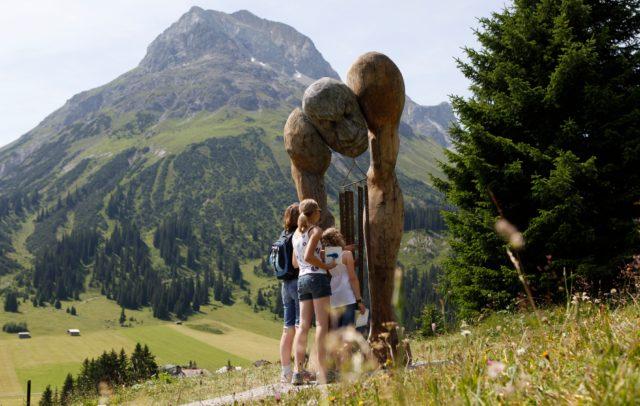 Der Grüne Rätselring © Lech Zürs Tourismus