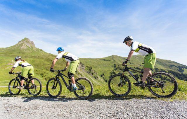 Mountainbike im Bregenzerwald (c) Stephan Schatz / Bike Schule Au-Schoppernau