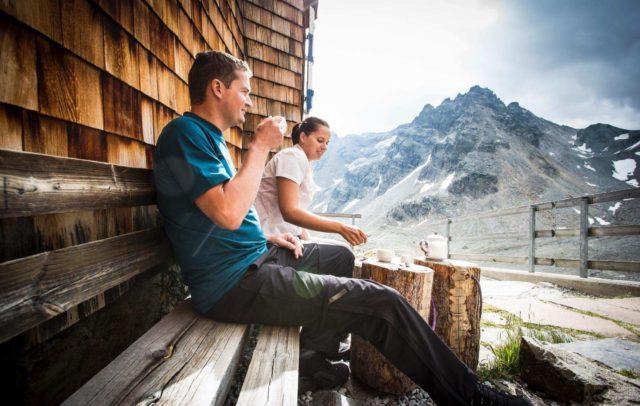Weitwandern, Montafoner Hüttenrunde, Saarbrücker Hütte, Montafon (c) Daniel Zangerl, Montafon Tourismus GmbH