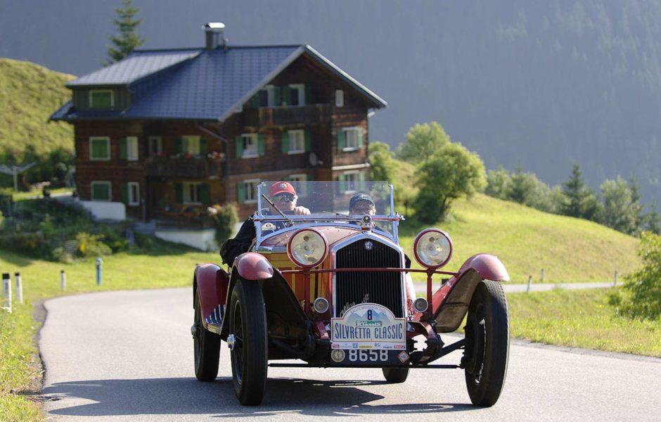 Silvretta Classic Rallye Montafon © Montafon Tourismus GmbH