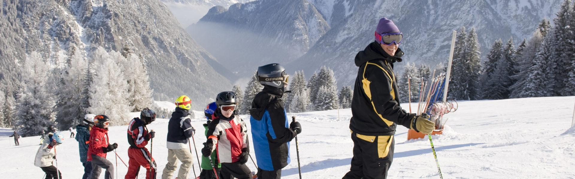 Familienhotel Lagant Brandnertal, Skifahren © Schwärzler Hotel Managment