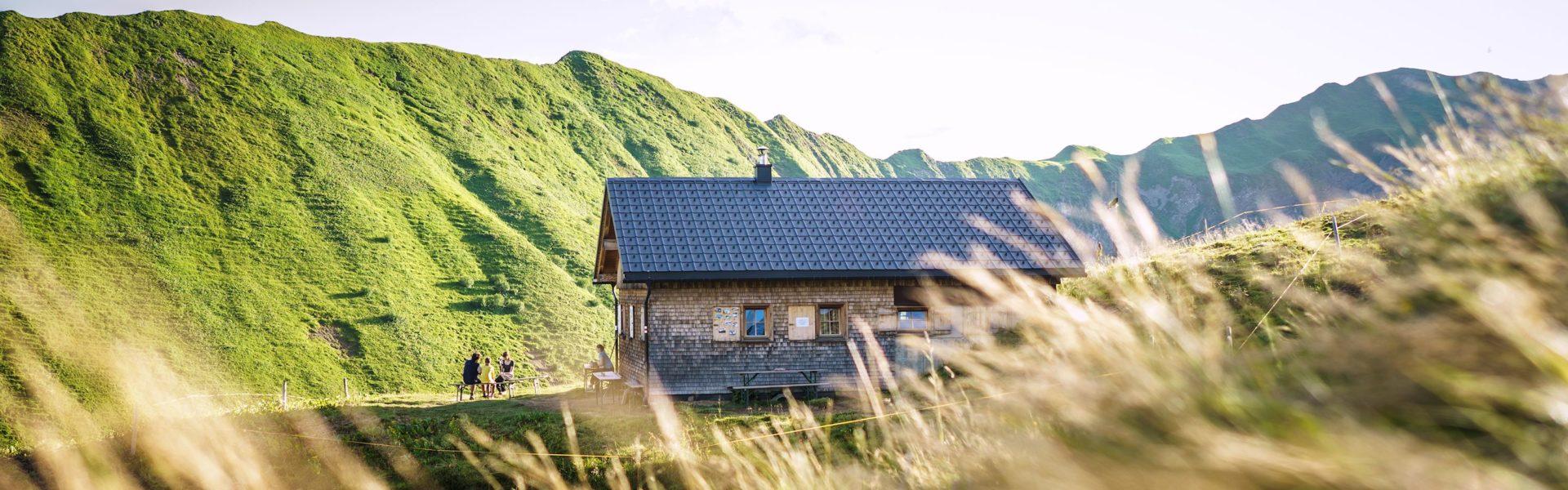 Bärguntalpe, Kleinwalsertal (c) Dietmar Denger / Vorarlberg Tourismus